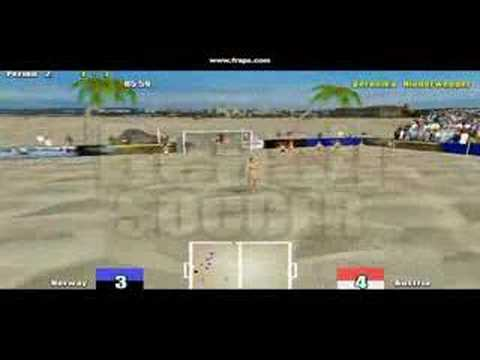 Babes and Balls: Extreme Beach Soccer