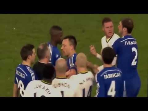 Branislav Ivanovic Bites James McCarthy (HD Full Video) Chelsea vs Everton