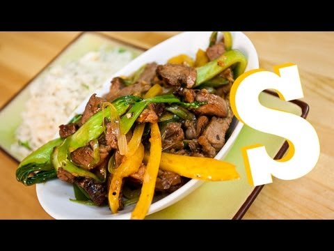 BEEF IN BLACK BEAN STIR-FRY RECIPE – SORTED