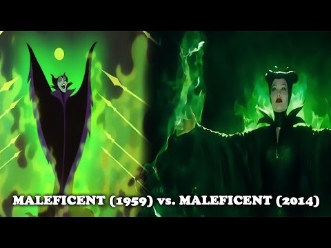 Sleeping Beauty (1959) vs Maleficent (2014) [similarities]