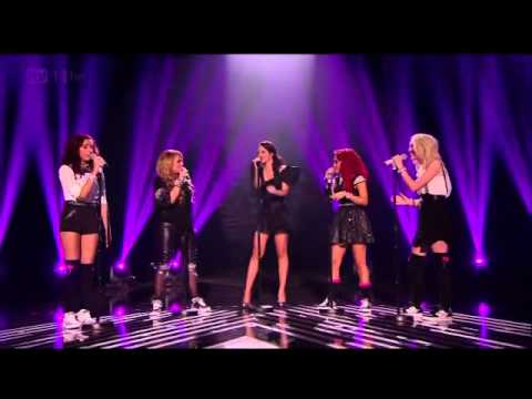 Little Mix and Tulisa perform Empire State Of mind at the X Factor Final 2011