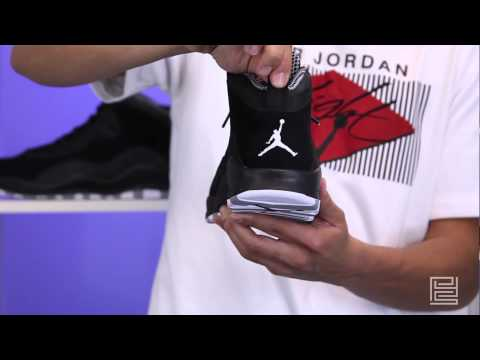 Air Jordan 10 X Retro black white stealth 310805-003