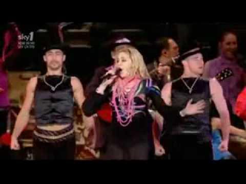 Madonna - La Isla Bonita Lela Pala Tute.  Tour Argentina gogol...