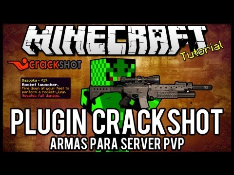 [Tutorial]CrackShot - Armas Para Server PVP Minecraft