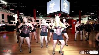 Hamalian Dance Ladies Burlesque @ Salsamania