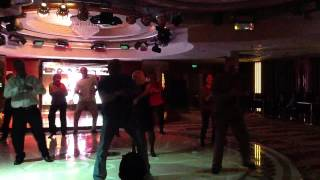 Seniors Rock Gangnam Style Yangtze River Cruise 2012 Green Team Dance