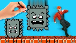 Super Mario Maker 2 in Real Life