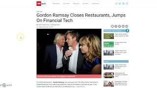 Bitcoin Revolution, Crypto Revolt SCAMS Use Chef Gordon Ramsay (Fake News Alert)