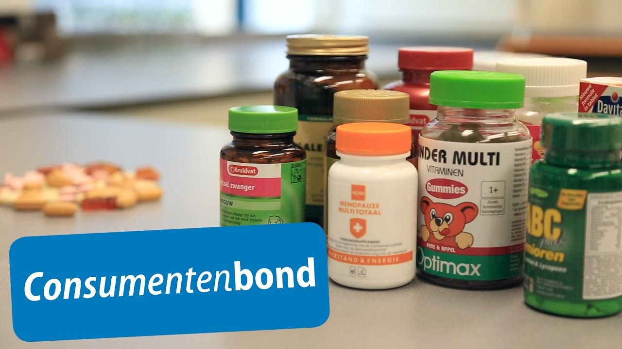 Multivitaminen - Tips (Consumentenbond) - YouTube