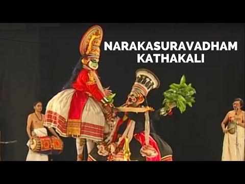 Narakasuravadham Kathakali Dance Drama Kerala video