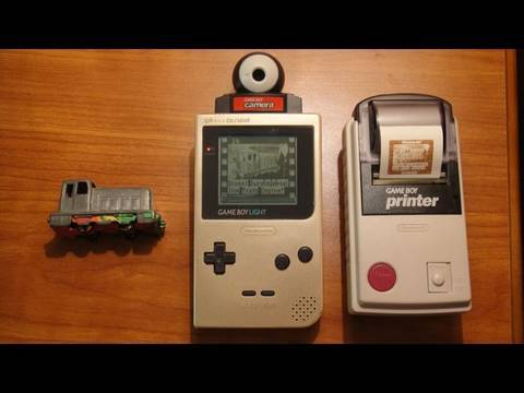 My first Digital camera:  The Gameboy Camera