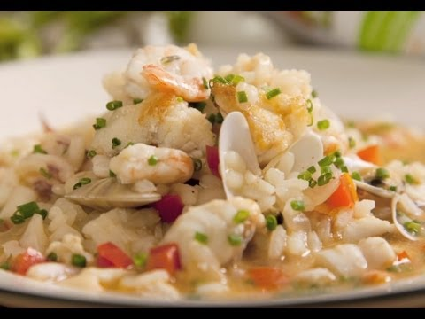 Arroz a la Marinera - Receta Arroz Brillante