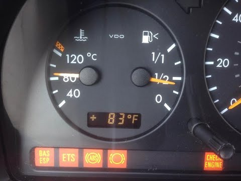Mercedes ML ESP BAS failure repair