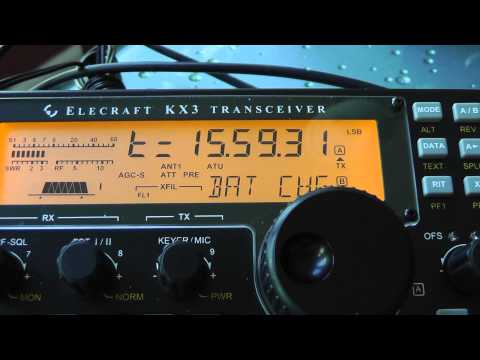 How to charge batteries Elecraft KX3