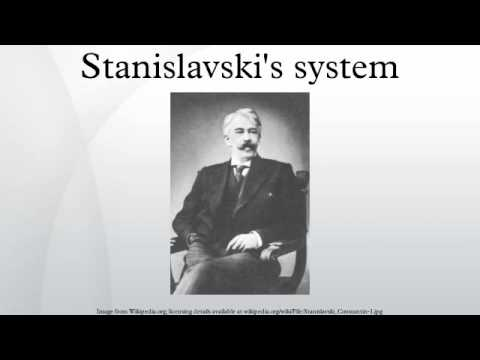 the concept of acting in stanislovskys system