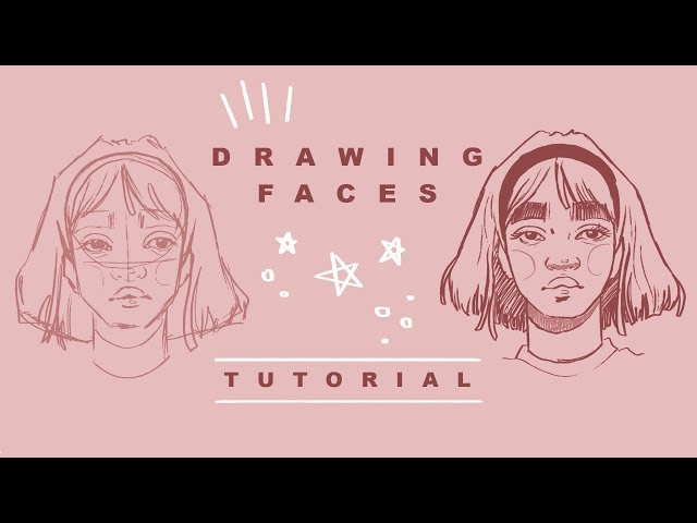 How I Draw Faces  Drawing Tutorial