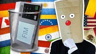 Urna Eletrônica Brasileira #Lixo @CanalDoOtario