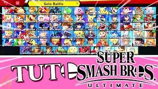 Débloquer Tous Les Personnages Rapidement sur Super Smash Bros. Ultimate