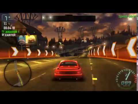 Need For Speed Carbon Own The City PSP Español iso