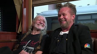 Willie Nelson And John Mellencamp Talk Farm Aid And Why It Continues | NBC Nightly News