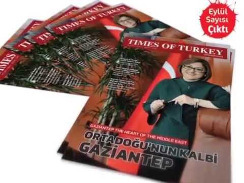 Times of Turkey dergisi Eylül sayısı çıktı