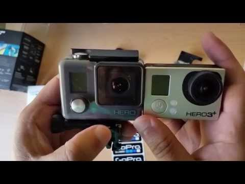 New 2014 Gopro HERO review and comparaison with hero 3+ black edition