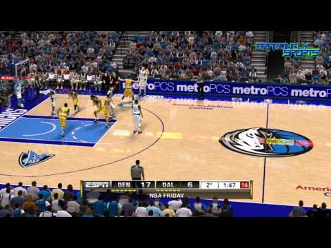 Denver Nuggets vs Dallas Mavericks 12.04.2013 [NBA2K13+commentary]