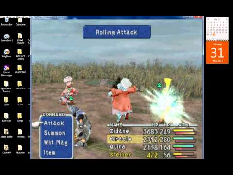 Final Fantasy IX Quina's Ultimate Weapon (Gastro Fork)
