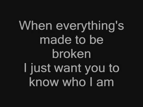lyric hoobastank to b e with you: