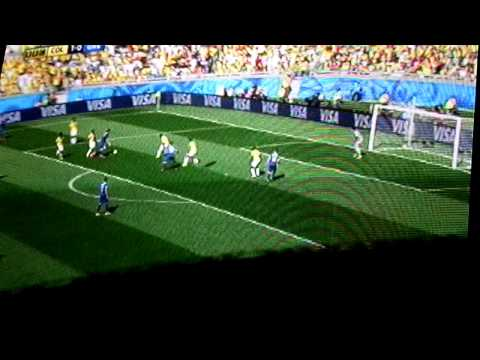 colombia 3-0 Greece 2014 FIFA World cup Brazil