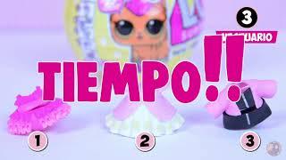 LOL Surprise EMBARAZADA😍😍 LOL Surprise Confetti POP y LOL Surprise LIL Sisters! Spanish