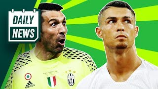 TRANSFERS and WORLD CUP NEWS: Buffon joins PSG, Ronaldo rejects Man Utd + England World Cup win