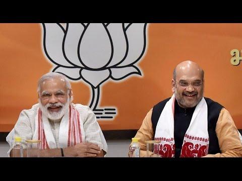 PM Modi Meets Amit Shah & Arun Jaitley to Reshuffle Cabinet