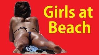2015 Sexy Girls in Bikinis ~ Beach Hotel Shops Bikini California Video