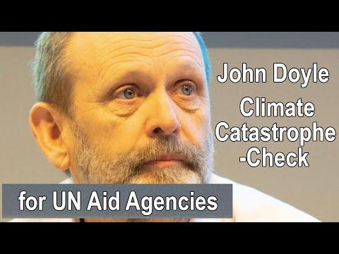 John Doyle - Climate 'catastrophe-check' for UN Aid Agencies