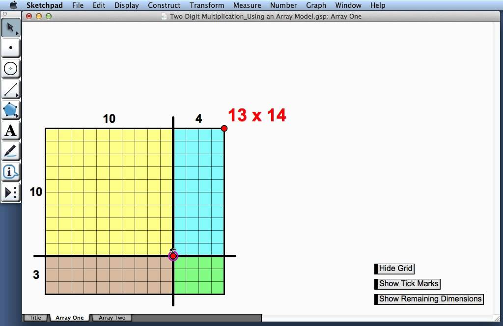 Two Digit Multiplication—Using an Array Model - YouTube
