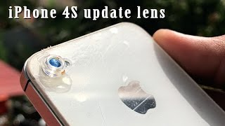 iOS 10.1.1 Review - iPhone 4S update lens
