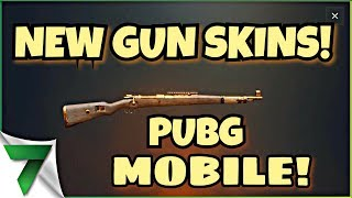 PUBG MOBILE GUN SKINS ARE HERE!! | PUBG MOBILE