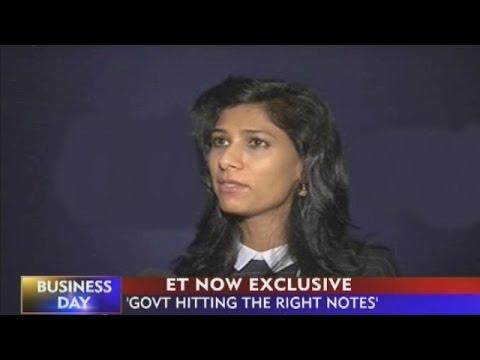 Economist Gita Gopinath To ET NOW At World Economic Forum