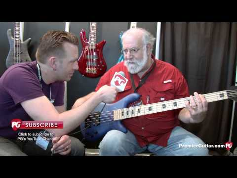 Musikmesse &#039;13 - Spector Basses ReBop-5MM Demo
