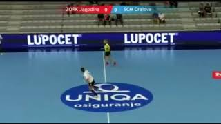 ZORK Jagodina - SCM Craiova away match first half 2018