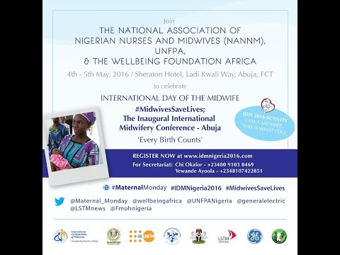 International Day of the Midwife Conference in Nigeria 2016 Live Stream