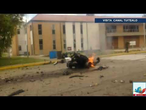 Explosión en escuela de policía en Bogotá Colombia deja ocho muertos