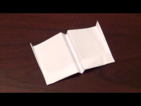 Longest Flying Paper Airplane  Tutorial - How To Make The Worlds Longest Flying Paper Airplane