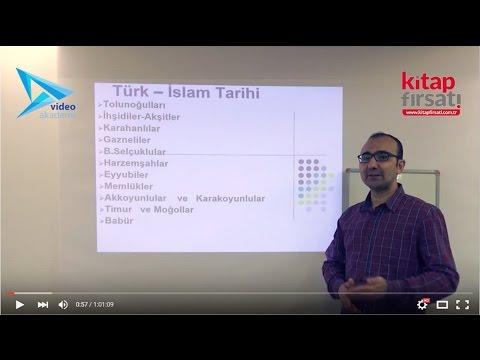 3) Türk İslam Tarihi (Siyasi Tarih) - Hamza TATAR (2016)