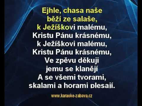 Karaoke Klip Ejhle Naše Chasa - Koleda