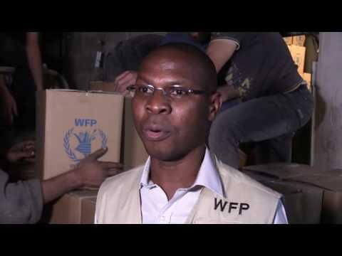 UN Aid Reaches Families in Beseiged Damascus Suburb
