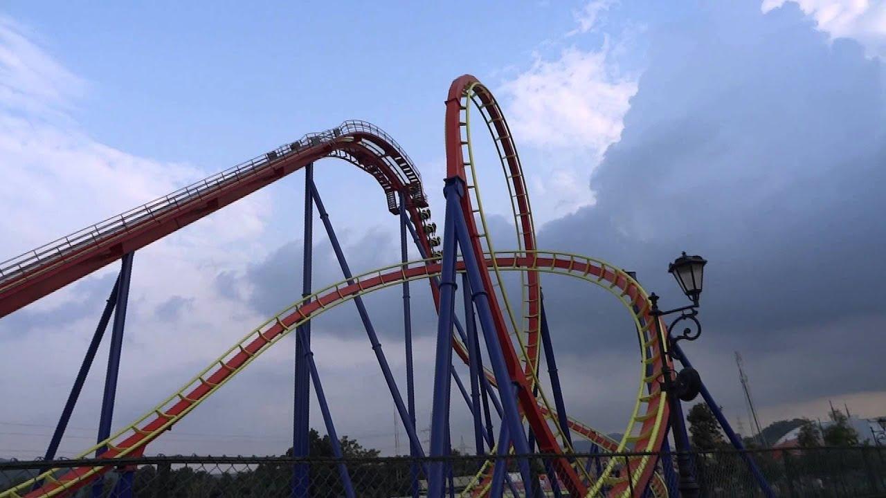 Roller Coaster Accident Universal Studios 2014 Youtube