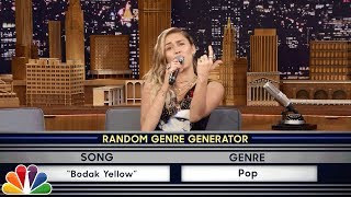 Download Lagu Musical Genre Challenge with Miley Cyrus Gratis STAFABAND