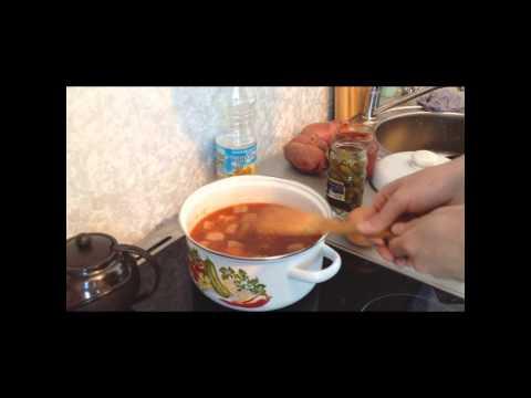 Как приготовить азу - видео